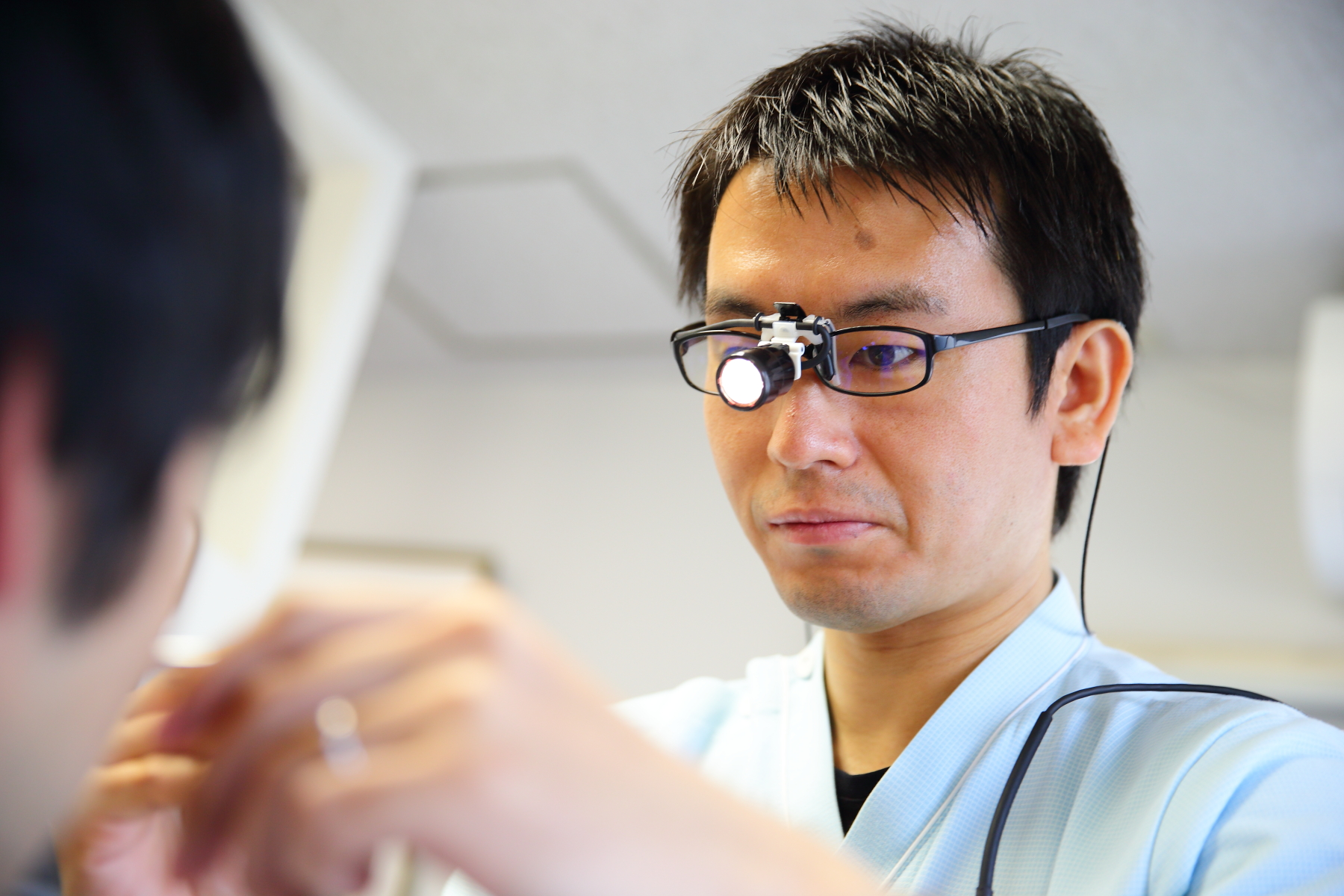 医院での診療は、処置やお薬の処方が中心です。